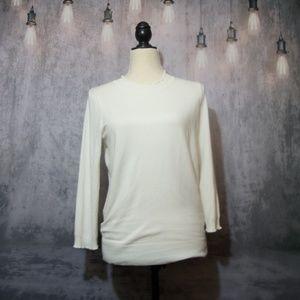 Cream Max Studio Light Weight Sweater Medium